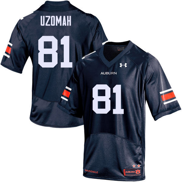 Men Auburn Tigers #81 C.J. Uzomah College Football Jerseys Sale-Navy