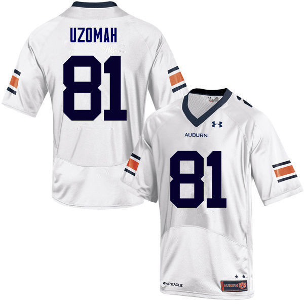 Men Auburn Tigers #81 C.J. Uzomah College Football Jerseys Sale-White