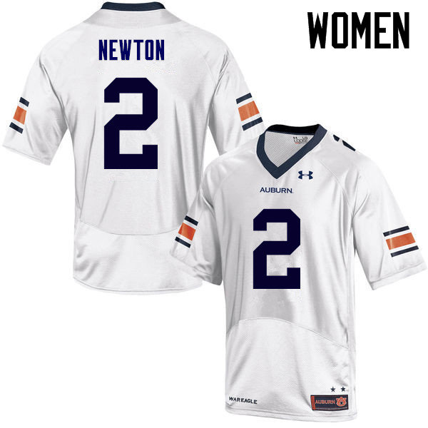 Women Auburn Tigers #2 Cam Newton College Football Jerseys Sale-White