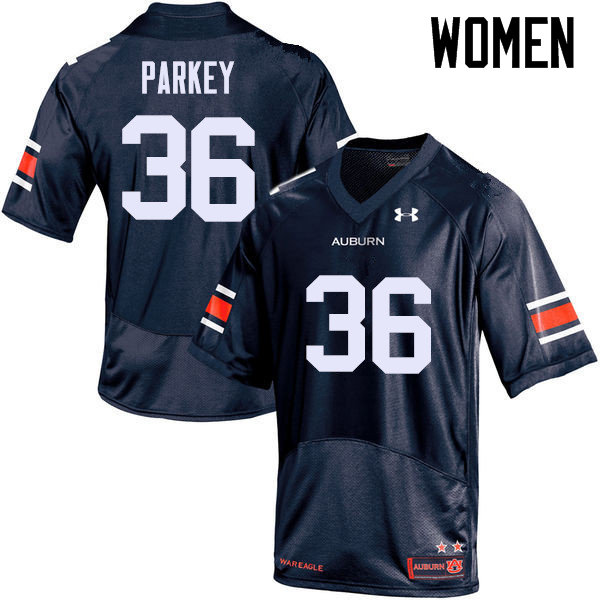 Women Auburn Tigers #36 Cody Parkey College Football Jerseys Sale-Navy