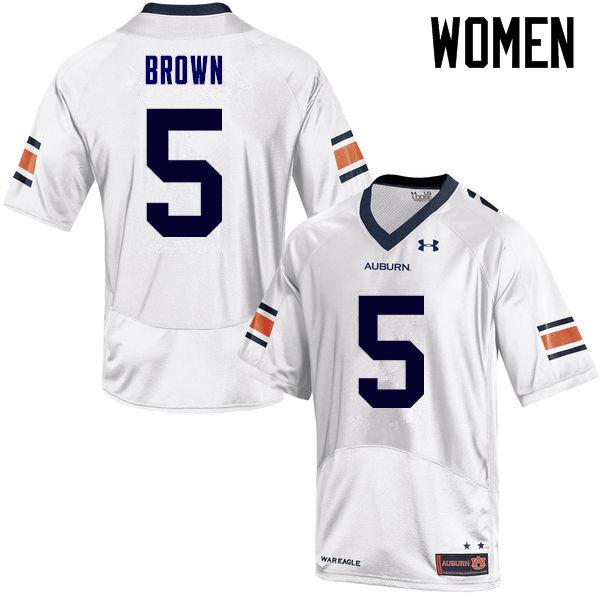 724160995 Women Auburn Tigers  5 Derrick Brown College Football Jerseys Sale-White