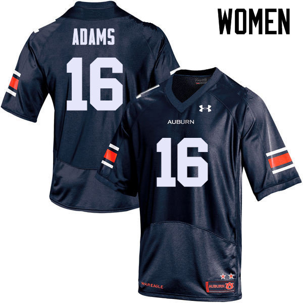 Women Auburn Tigers #16 Devin Adams College Football Jerseys Sale-Navy