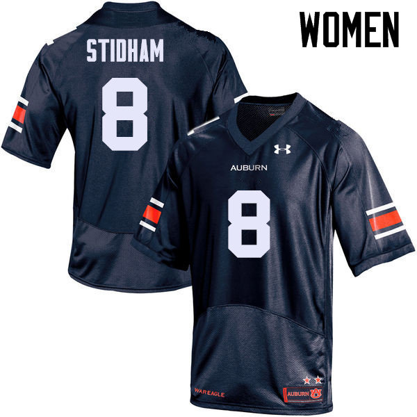 Women Auburn Tigers #8 Jarrett Stidham College Football Jerseys Sale-Navy