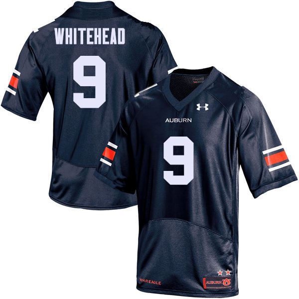 Men Auburn Tigers #9 Jermaine Whitehead College Football Jerseys Sale-Navy