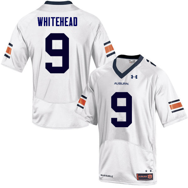 Men Auburn Tigers #9 Jermaine Whitehead College Football Jerseys Sale-White