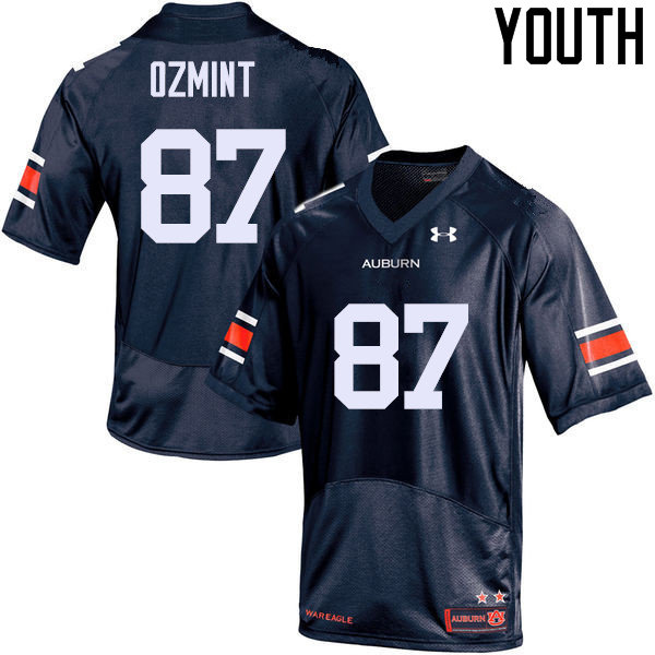 Youth Auburn Tigers #87 Pace Ozmint College Football Jerseys Sale-Navy