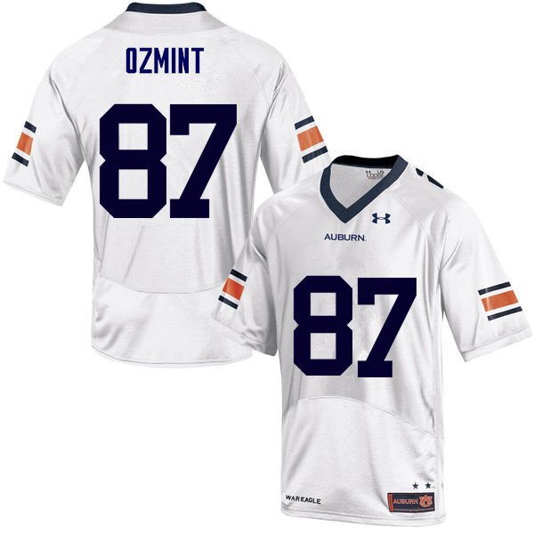 Men Auburn Tigers #87 Pace Ozmint College Football Jerseys Sale-White