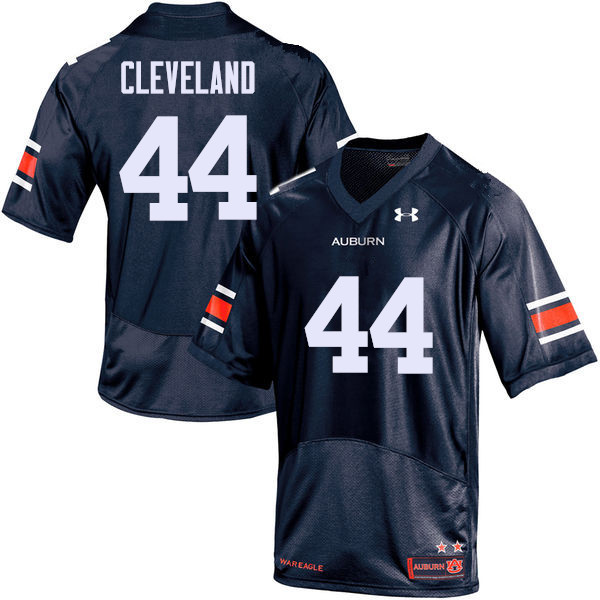 Men Auburn Tigers #44 Rawlins Cleveland College Football Jerseys Sale-Navy