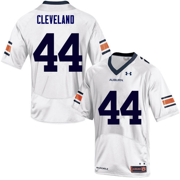 Men Auburn Tigers #44 Rawlins Cleveland College Football Jerseys Sale-White