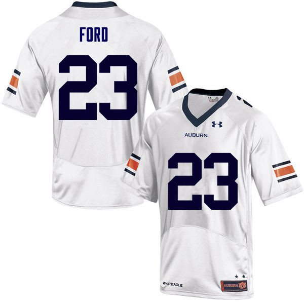 Men Auburn Tigers #23 Rudy Ford College Football Jerseys Sale-White