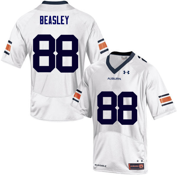 Men Auburn Tigers #88 Terry Beasley College Football Jerseys Sale-White