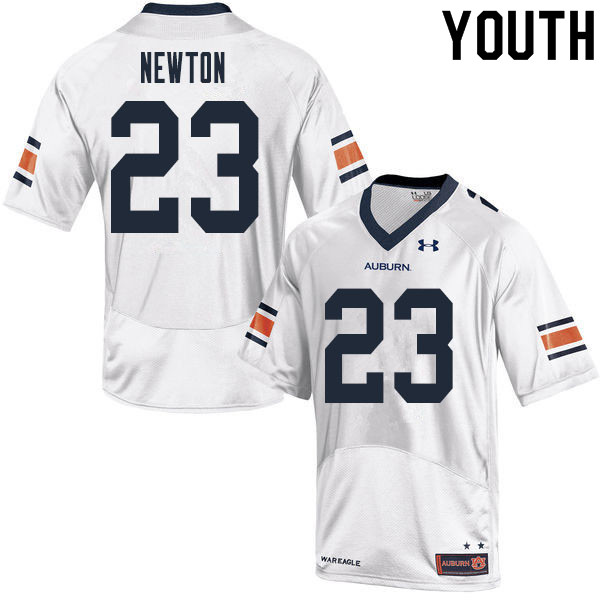 Youth #23 Caylin Newton Auburn Tigers College Football Jerseys Sale-White