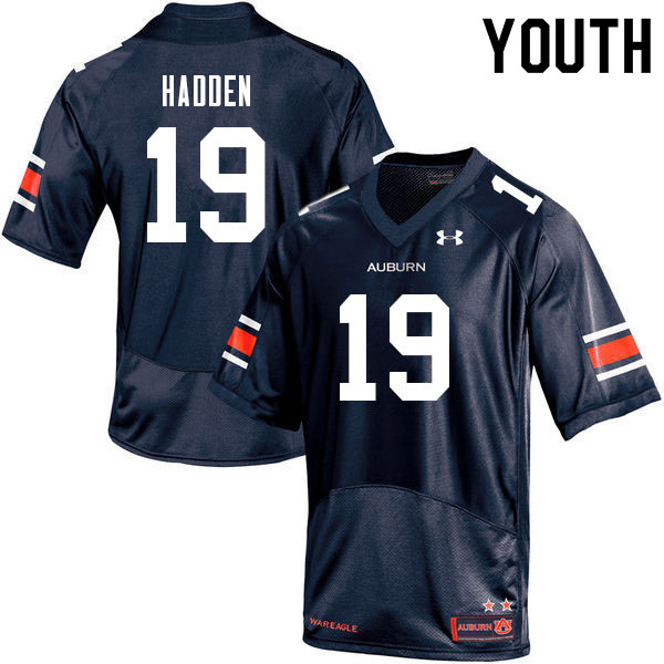 Youth #19 Kamal Hadden Auburn Tigers College Football Jerseys Sale-Navy