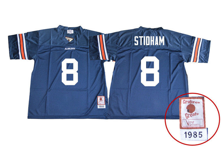1985 Throwback Youth #8 Jarrett Stidham Auburn Tigers College Football Jerseys Sale-Navy